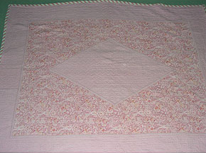 Pink Revesible Durham Quilt
