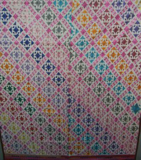 Finely Embroidered Bedcover