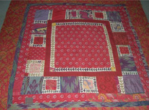 Extraordinary Patchwork Quilt
