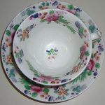 Pretty Hand Painted Cup and Saucer