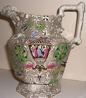Chintz Printware Decorated Jug