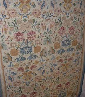 Kashmiri Chain Stitch Carpet