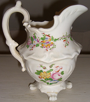 Hand Painted Cream Jug